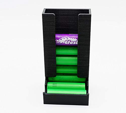 Dispensador de batería 18650 para 10 baterías.