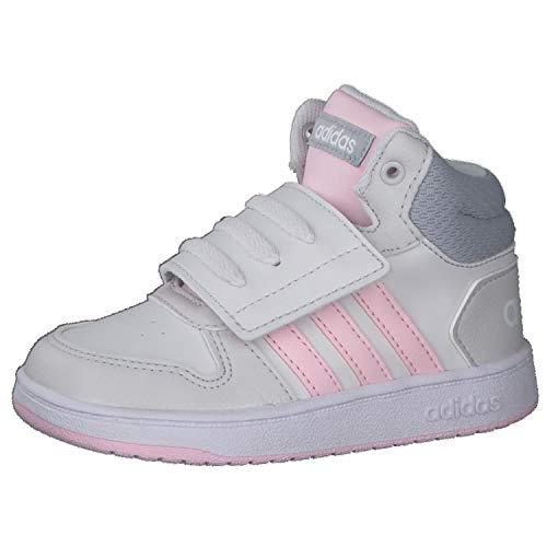 adidas Hoops Mid 2.0 I, Zapatillas de Baloncesto, TOQGRI/ROSCLA/PLAHAL, 25.5 EU