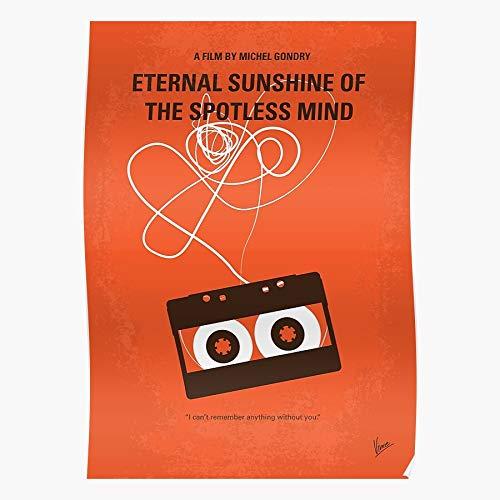 Sunshine Mind Kaufman Of Spotless The Charlie Eternal Jim Regalo para la decoración del hogar Wall Art Print Poster 11.7 x 16.5 inch