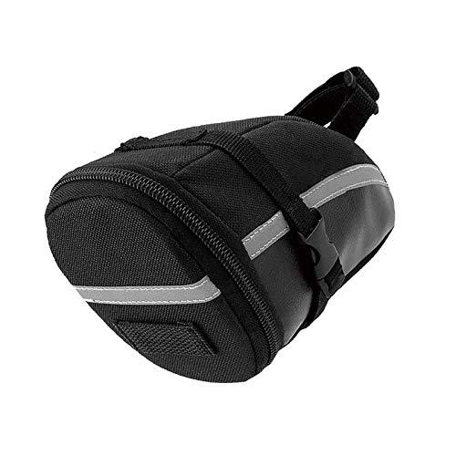 Bike Underseat Bag Waterproof Bicycle Saddle Wedge Seat Pack Outdoor Under Only Bag