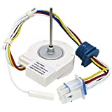WR60X10074 WR60X10307 Evaporator Fan Motor Replacement Part by Appliancemate Compatible Wi...