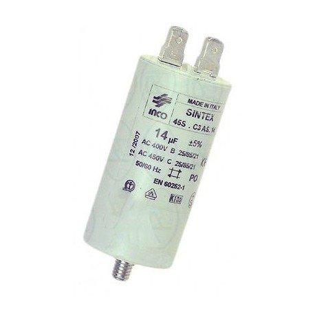 Puce CONDENSATORE 20 UF Universale Lavatrice ARISTON INDESIT Originale C00049155