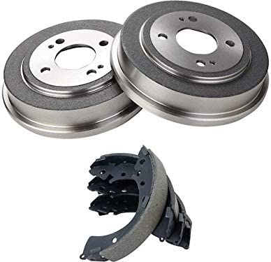 Rear Brake Drum and Sale special price Shoe Mail order Kit - Compatible Piece 3 with 1