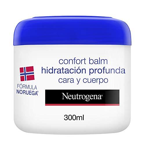 Neutrogena Bálsamo Hidratación Profunda Cara y Cuerpo, Piel Seca, 300ml