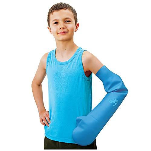 Bloccs – Langer wasserdichter Armprotektor für Gipsverbände (Kinder)