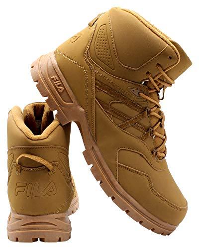 Fila Mens Pro Strap Boot - Wheat Tan,Wheat TAN,10