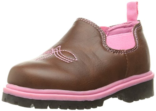 Western Chief Kids Romeo Ankle Boot, Charisse Brown, 2 M US Little Kid