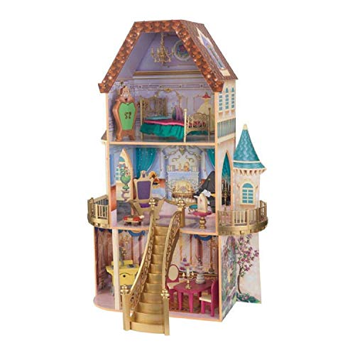 KidKraft Disney Beauty and the Beast Enchanted Dollhouse