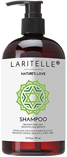 Laritelle Organic Shampoo Nature's Love 17.5 oz
