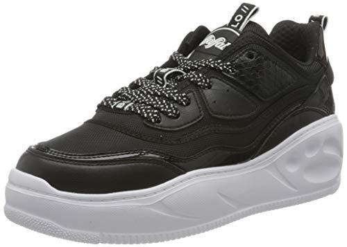 Buffalo Flat CPX, Zapatillas Mujer, Negro, 41 EU