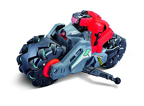 Maisto-Cyklone Drift-Moto Teledirigida 82293, Color Rojo/Negro