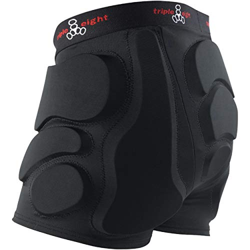 Triple Eight RD Bumsaver Women's Padded Shorts for Roller Derby, Skateboarding and Skating, X-Small
