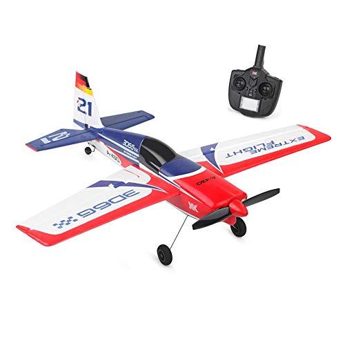 DBXMFZW RC Jet 3D6G Modo Control Remoto Avión RC Avión con gyroscopio EPP Foam RC Airplane Grande Propeller Fijado RC Regalos de Aviones para niños y niñas RTF