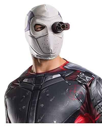 Horror-Shop Suicide Squad Deadshot Stoffmaske für Erwachsene