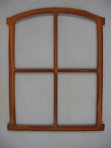linoows Eisenfenster, Fenster, Stallfenster, Scheunenfenster mit Fensterkreuz, Gusseisen