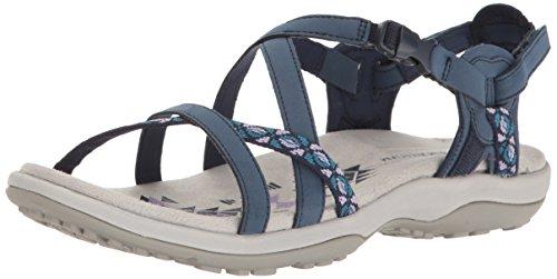 Skechers Reggae Slim-Vacay-40955 Slingback sandalen, bruin, 41 EU