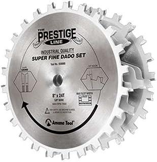 "Amana Tool - 651030 Carbide Tipped Dado 10"" Dia x 24T ATB/Ft 15 Deg, 5/8 Bore, Dado SE"