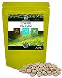 Té verde/NAKURU Boost/Polvo orgánico secado y comprimido en frío/Analizado y acondicionado en Francia /'El Elixir de la Vida!' (90 Tabletas de 530mg / Peso Neto: 47,7g / Verde)