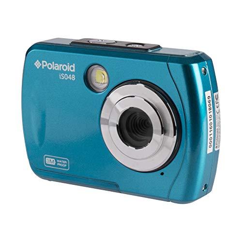 Polaroid IS048 Waterproof Instant Sharing 16 MP Digital Portable Handheld Action Camera, Teal