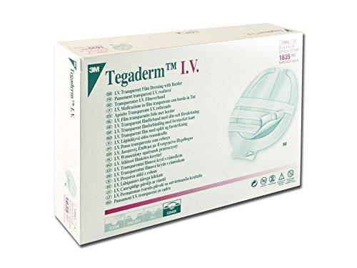 3M TegadermTM IV - cm 8,5 x 10,5 cm, zelfklevend, steriel van polyurethaan, met rand van TNT voor conventionele kettingen, 50 stuks