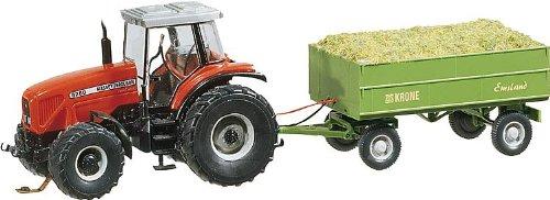 FALLER 161536 - Traktor MF mit Anhänger (Wiking)