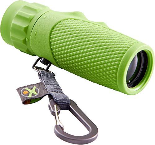 HABA 305377 - Terra Kids Monokular, tragbares Fernrohr für Naturbeobachtungen mit Kindern, Outdoor-Tool aus Metall für Ausflüge in die Natur