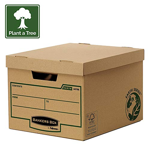 Bankers Box Earth Series Standard Archivbox (100% recycled) 10 Stück braun thumbnail