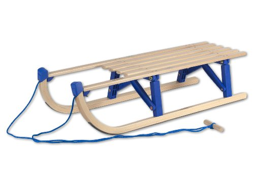 R.P.L. Schlitten Klapprodel Davos mit Kunststoffbrücke, 100 cm