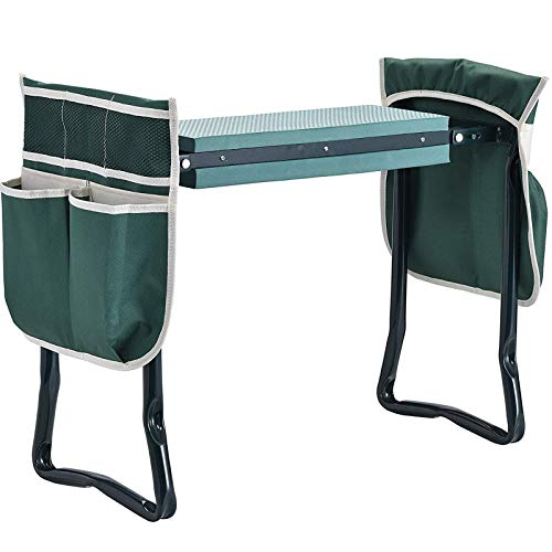 Garden Seats and Knees for Outdoor Activities Comes with 2 Tool Bags to Store Garden Tools and Soft EVA Foam A Sturdy Garden Work seat Garden Knees and Seats are Gifts for Home Gardening