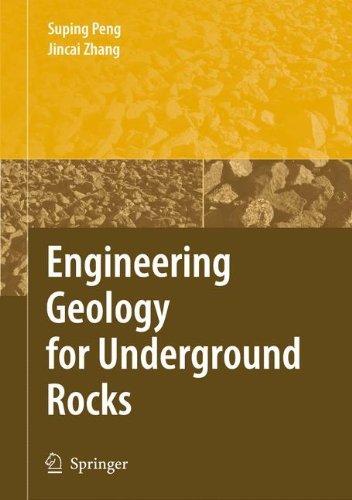 Engineering Geology for Underground Rocks (English Edition)