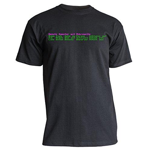"""Nukular T-Shirt """"Adventure"""" (Auswahl-Menü), Farbe schwarz, Größe XL"""