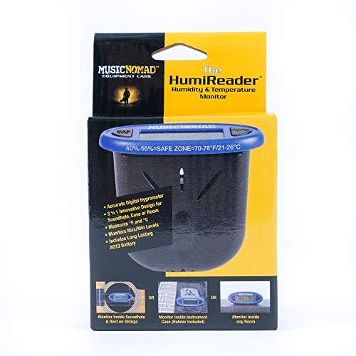 MusicNomad HumiReader Hygrometer, Humidity, & Temperature Monitor (MN305)