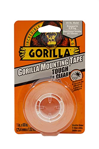Gorilla Tough & Clear Double Sided Mounting Tape