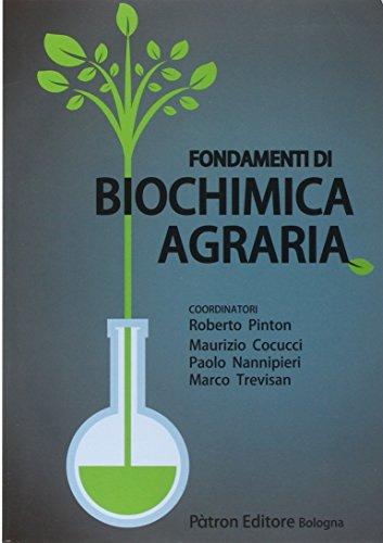 Fondamenti di biochimica agraria