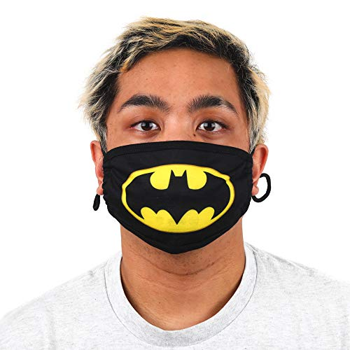 DC Comic Book Batman Superhero Symbol Adult Face Mask