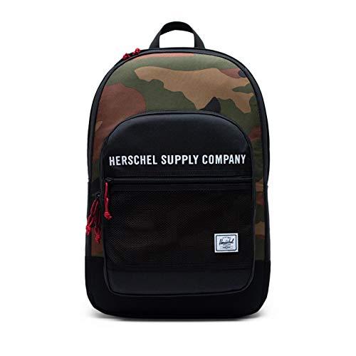 Herschel Supply Co. Kaine Black/Woodland Camo One Size