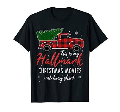 Christmas Movies Gifts Funny Xmas Watching Christmas Movie T-Shirt