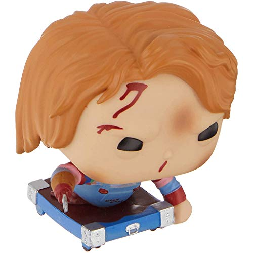 MCC Studio Funko Pop Movie : Childs Play - Chucky On Cart (Hot Topic Exclusive) 3.75inch Vinyl Gift...