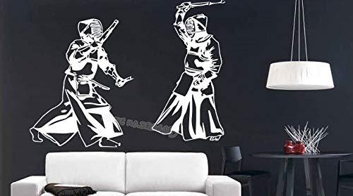sanzangtang Fencing atleten concurrentie schermen sport vechten zwaard muur stickers offensieve verdediging extreme sporten decals stadion muurschildering kunst decoratie