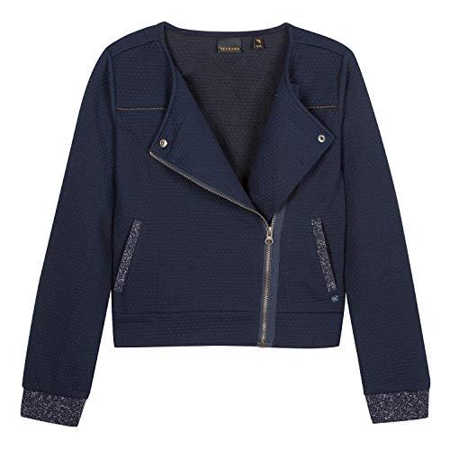 B-KARO Mädchen 3n17036 Waistcoat Blazer, Blau (Navy Blue 49), Medium