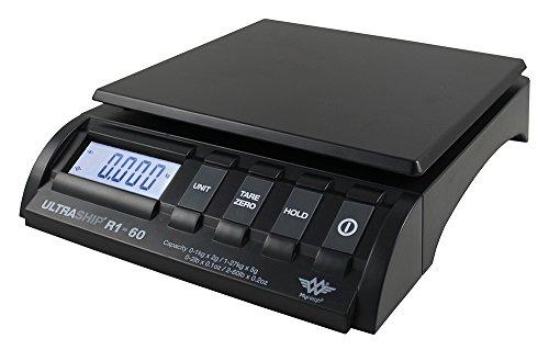 Balance de bureau - pèse-courrier - pèse-colis - Capacité : 27kg - Lecture 2g jusqu'à 1kg et 5g entre 1 et 27kg