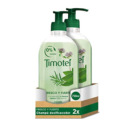 Timotei Force & Eclat Shampoo 750 ml – 2 Stück