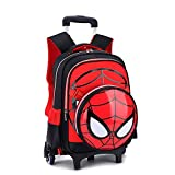 Mochila Trolley - Escuela Primaria Spiderman 3D Impreso Niños del Bolso De Balanceo Primaria...
