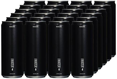 CanO Water Sparkling, Dosen, Mineralwasser in wieder verschließbaren, 24er Pack, EINWEG (24 x 330 ml)