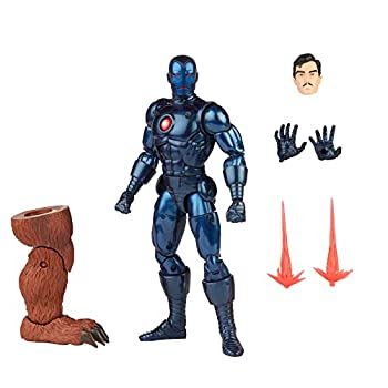 Hasbro Marvel Legends Series 6-inch Stealth Iron Man Action Figure Toy Includes 5 Accessories and 1 Build-A-Figure Part Premium Design and Articulation