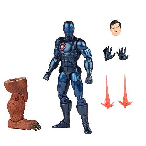 Boneco Marvel Legends Series Homem de Ferro, Figura de 15 cm - Stealth Iron Man - F0357 - Hasbro