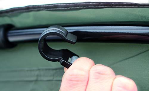 Coleman Sicht- und Windschutz als Türelement für Event Shelter, 4,5 x 4,5m - 6