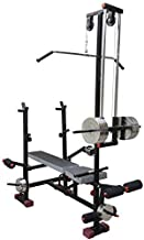 GOLD FITNESS Muscle Gaining Multipurpose 20 in 1 Bench Gym Equipment (Multicolour)