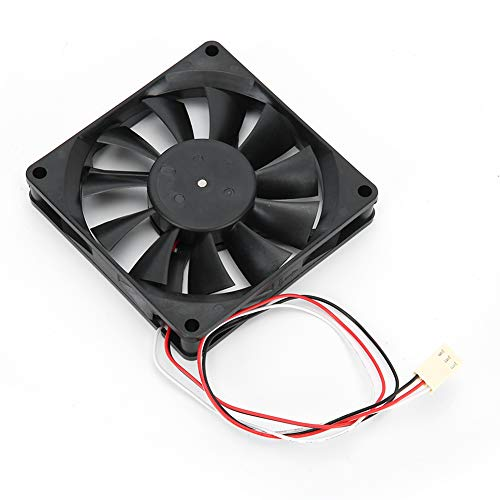 Hyuduo1 Ventilador de disipador de Calor para Carcasa de PC de 8 cm, Ventilador de enfriamiento de chasis de 4200 RPM Regulación de Velocidad de Cuatro Cables, para Carcasa de PC Puente Sur/Norte