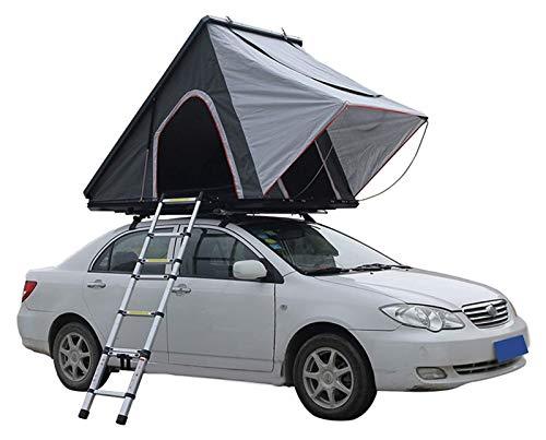 pwmunf Auto-Dachzelt, Camping im Freien, regensicherer und sonnensicherer Auto-modifizierter SUV-Zelt, hochfeste Shell ist robust und stabil (Color : Multi-Colored, Size : 130x205x150cm)
